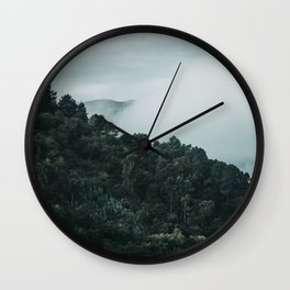douro mountains and valley Wall Clock