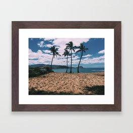 West Side of Oahu Framed Art Print