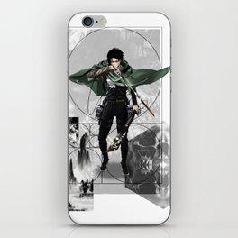 Captain Levi Attack on Titan Shingeki no kyojin iPhone Skin
