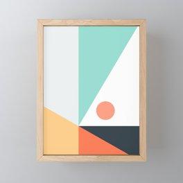 Geometric 1712 Framed Mini Art Print