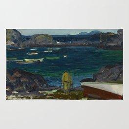 The Harbor, Monhegan Coast, Maine, 1913 Rug