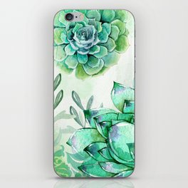 Irish Mint Garden iPhone Skin
