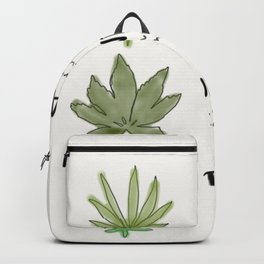 Types of Cannabis Backpack