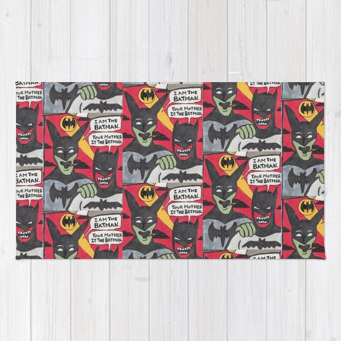 Beware the Batmen Rug