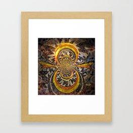 Digital Beadwork #5 Framed Art Print