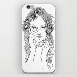 close your eyes, then you will see iPhone Skin
