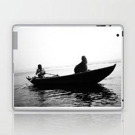 In search of peace, Varanasi. INDIA Laptop & iPad Skin