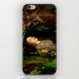 "John Everett Millais ""Ophelia"" iPhone Skin"