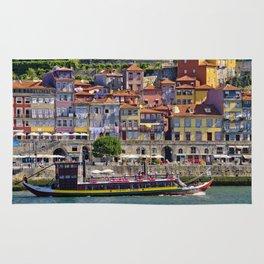 Ribeira houses, Oporto Rug