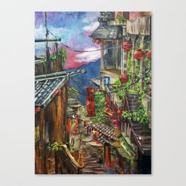 Jiufen Canvas Print