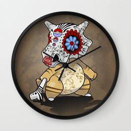 Sugarskull Cubone Wall Clock