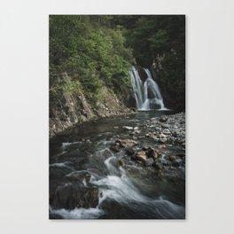 Secret Falls - Isle of Skye, Scotland Canvas Print