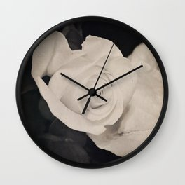 as she turned around Wall Clock