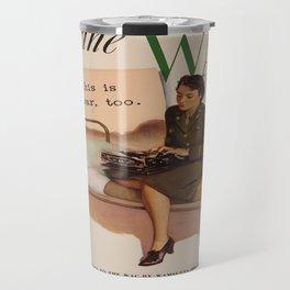 Vintage poster - WAC Travel Mug