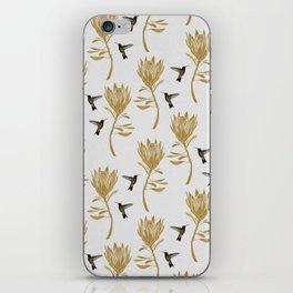 Hummingbird & Flower I iPhone Skin