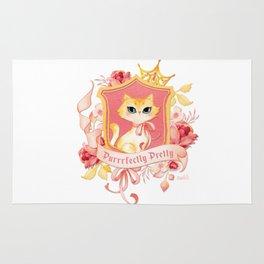 Purrrfectly Pretty Kitty Rug