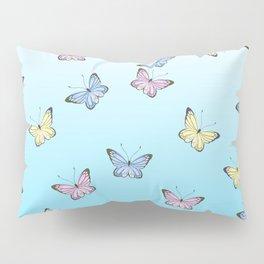 Rainbow Butteflies Pillow Sham