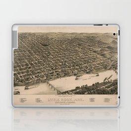 Perspective Map of Little Rock, Arkansas (1887) Laptop & iPad Skin