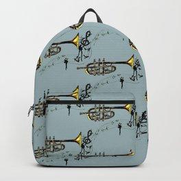 Trumpet Simple Sketch Backpack