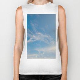 Hummingbird Cloud by Teresa Thompson Biker Tank