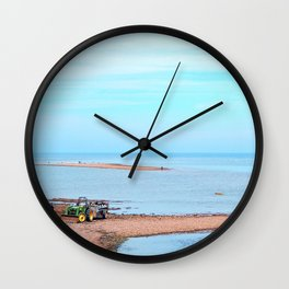 Island's End and Beyond Wall Clock
