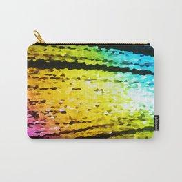 rainBoW Crystal Texture Carry-All Pouch