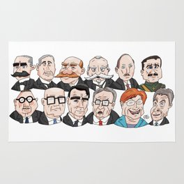 Presidents of Finland Rug