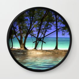 Paradise - Paradise Island, Bahamas Wall Clock