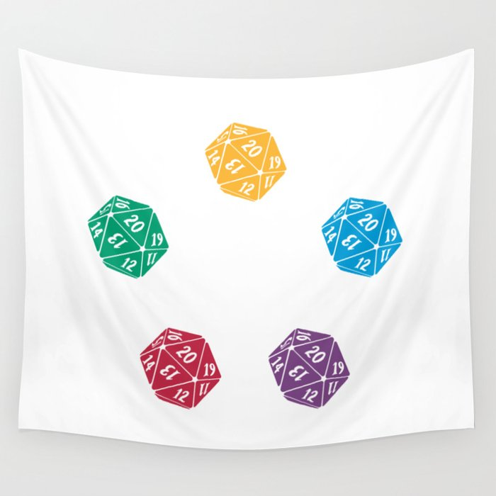 Mana Spin-downs Wall Tapestry