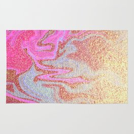 Glitter Marble Rug