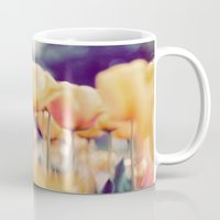 tulips Mugs featuring Tulips by elle moss