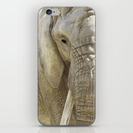 Elephant Photography | Wildlife Art | African | Nature | Animal iPhone Skin
