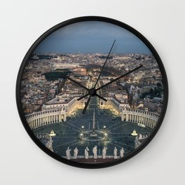 St. Peter's Square Wall Clock