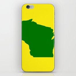 Wisconsin Football iPhone Skin