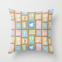 Flying Machines Throw Pillow
