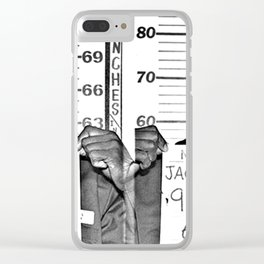 Jackson, Curtis Mugshot Clear iPhone Case