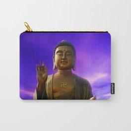 Buddha Blue Dawn Carry-All Pouch