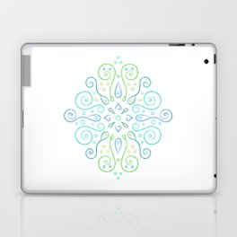 The Joy of Spring Mandala Laptop & iPad Skin