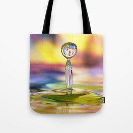 Colorful Splash Tote Bag
