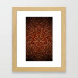 Drop of Golden Sun Framed Art Print