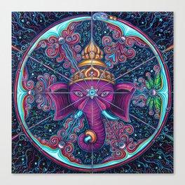 Eye of Ganesh Canvas Print