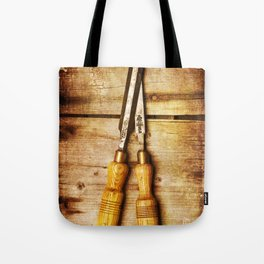 Old Chisels Tote Bag