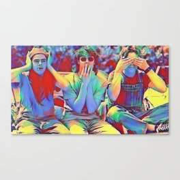 Dazed and Confused x flora Canvas Print