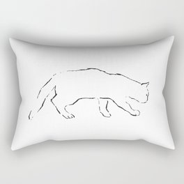 Cat 12 Rectangular Pillow