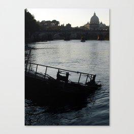 ROME POSTCARD 005 Canvas Print