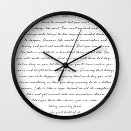 Grab Hold Wall Clock