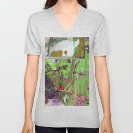 Green Earth Boundary Unisex V-Neck
