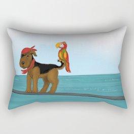 Augie Redbeard Rectangular Pillow