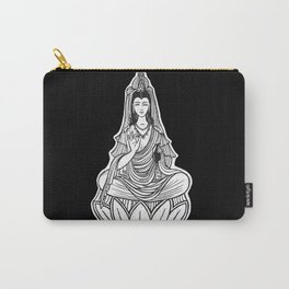 Chinese god. Beautiful goddess. Peace. Beauty concept. Meditation. Healing concept. Chinese medicine Carry-All Pouch