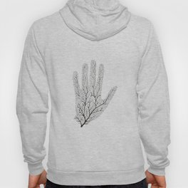 Hand Branches - Black Hoody